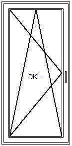 Balkontür – Dreh-Kipp-Funktion