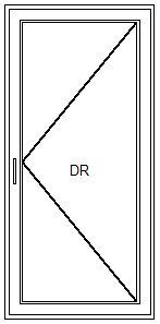 Balkontür – Dreh-Funktion
